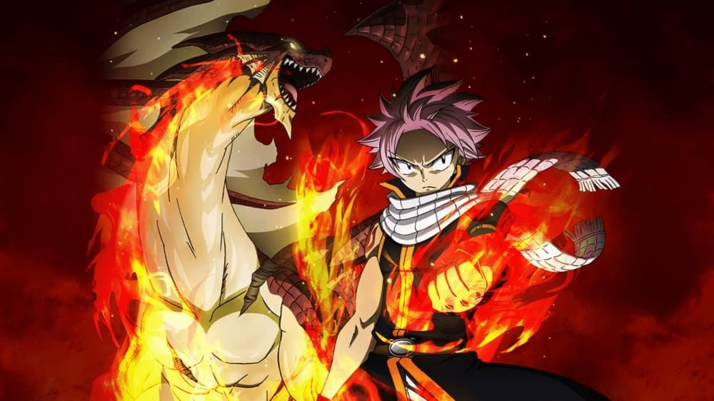 Natsu Dragneel (Dragonil) di Fairy Tail
