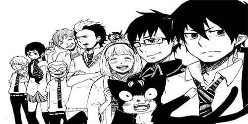 Ao No Exorcist - Blue Exorcist Manga
