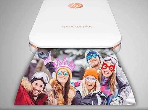 HP Sprocket Plus Stampante Fotografica Istantanea Portatile