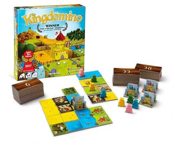 Kingdomino gioco in scatola per bambini