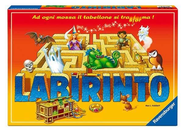 Labirinto gioco da tavolo fantasy per bambino