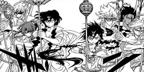 Magi - The Labyrinth of Magic Manga fantasy