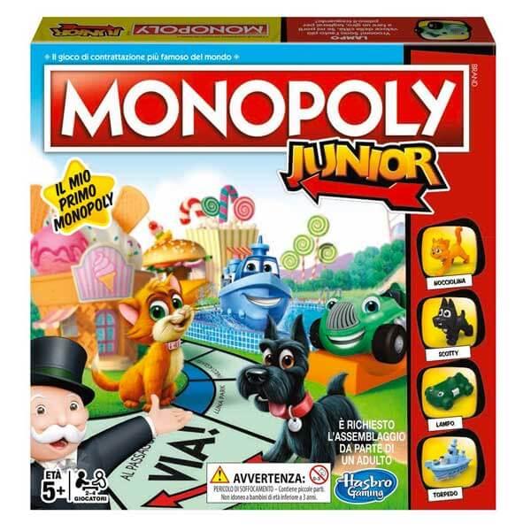 Monopoly Junior Gioco per Bambini