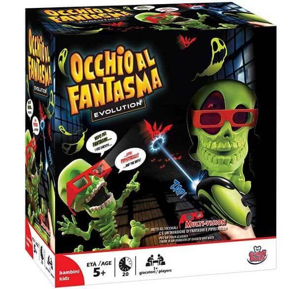 Occhio al Fantasma Evolution gioco in scatola per bambini