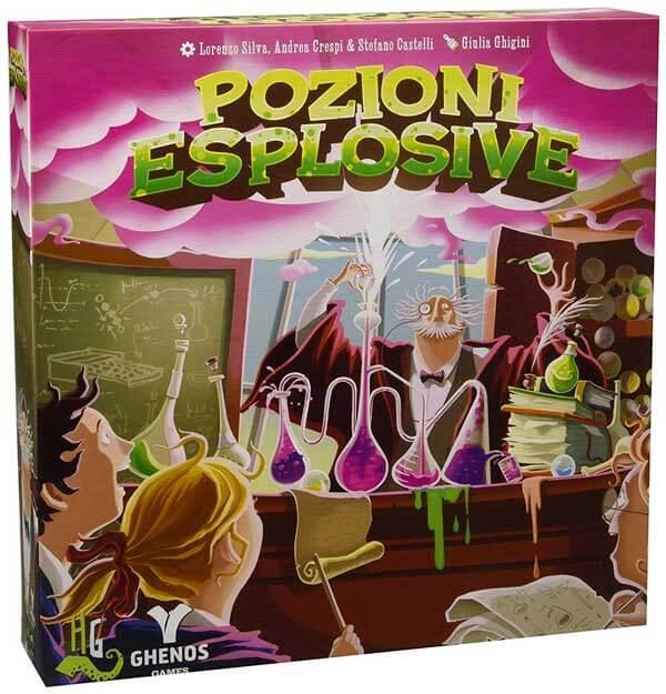 Posizioni Esplosive gioco da tavolo per bambini
