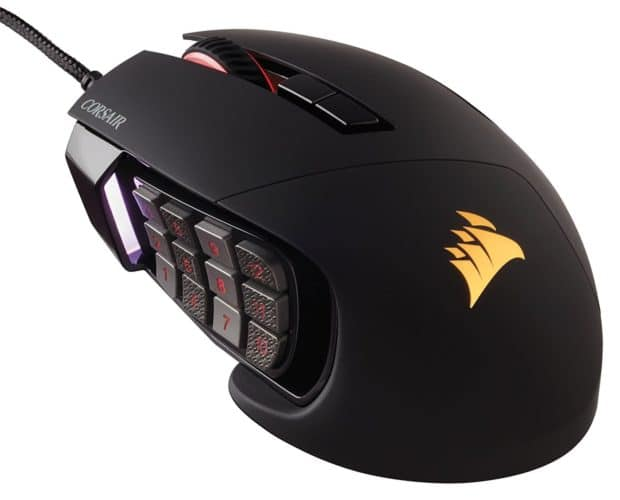 Corsair Scimitar PRO RGB mouse da gamers