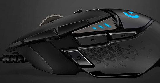Logitech G502 HERO Mouse Gaming