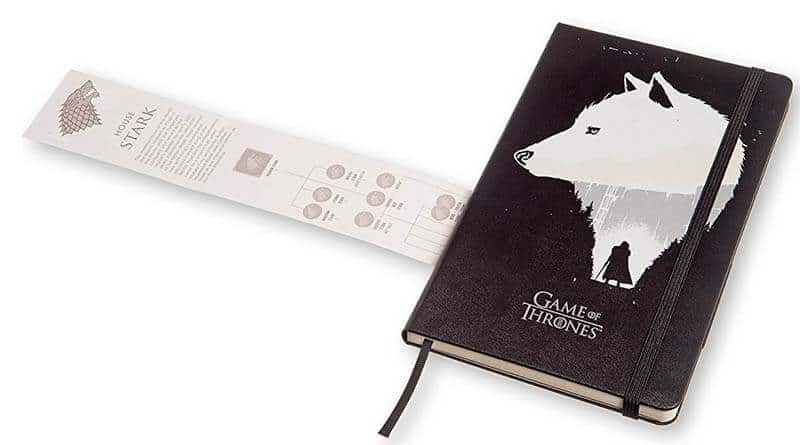 Moleskine di Game of Thrones
