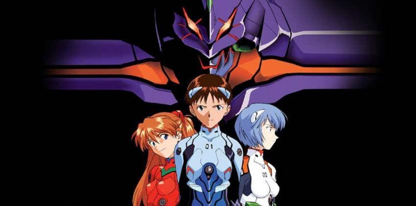 Neon Genesis Evangelion anime su Netflix