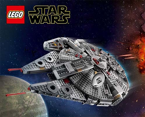 Set Lego Star Wars Millanium Falcon