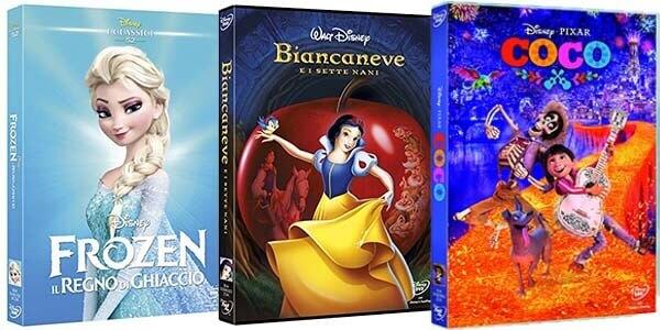 DVD Cartoni Disney