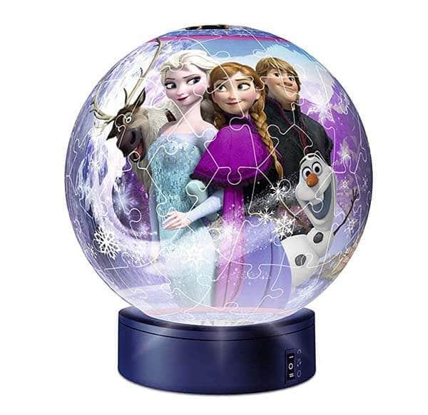 Puzzle 3D Lampada Notturna di Frozen