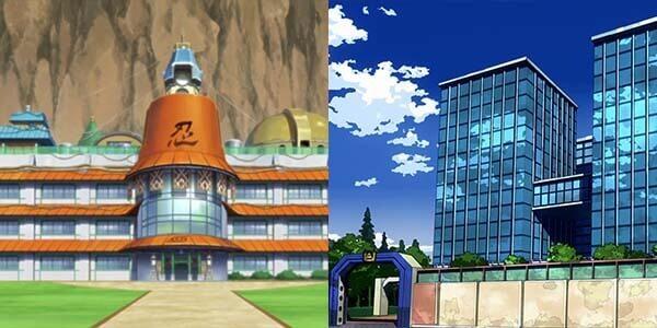 Accademia Ninja Naruto e yuuei my hero academia
