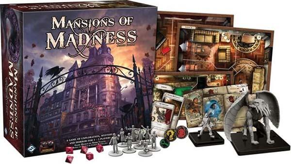 Le Case della Follia Giochi da Tavolo Horror