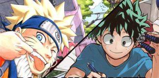 Similitudini fra Naruto e My Hero Academia