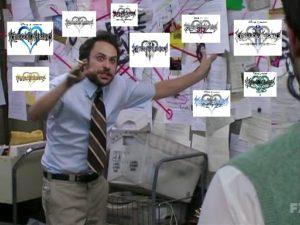 Quando cerchi di spiegare la storia di Kingdom Hearts
