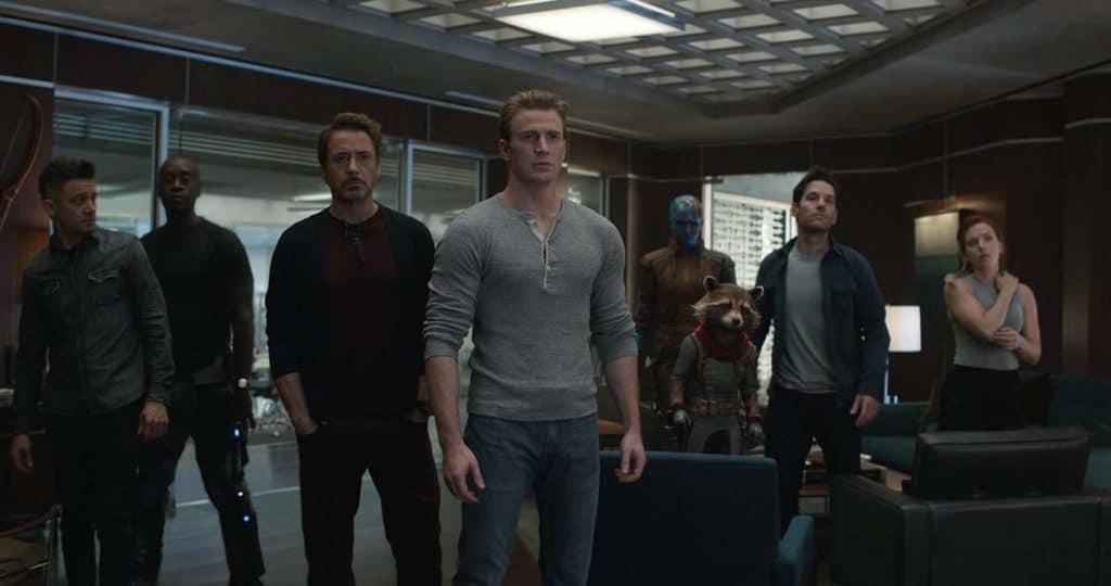 Personaggi Avengers Endgame