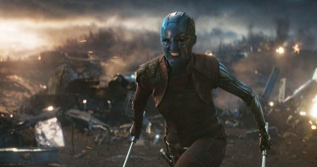 Scena guerra Avengers Endgame