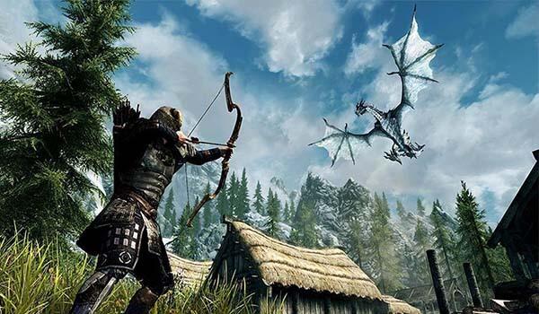 Skyrim Giochi fantasy Computer