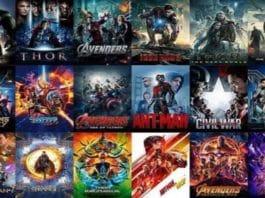 Film Marvel Cronologie e Lista