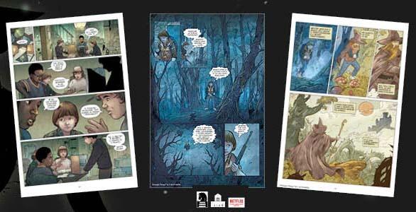 Il Sottosopra - Libro a Fumetti di Stranger Things