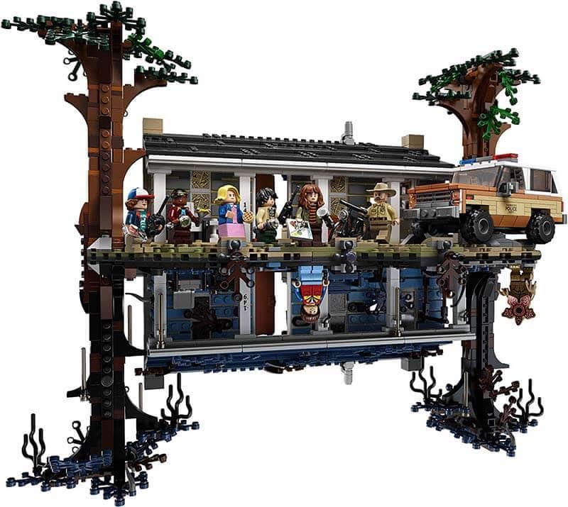 Set Lego Stranger Things Sottosopra
