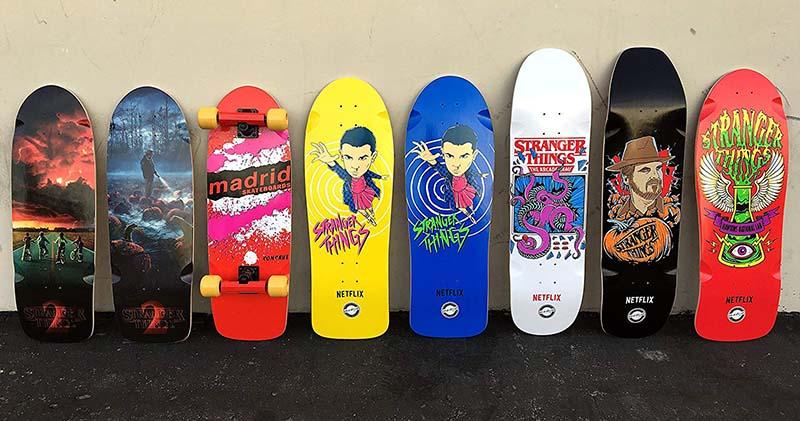 Skateboard Stranger Things 2