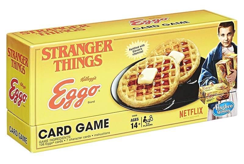 Stranger Things Eggo gioco di carte