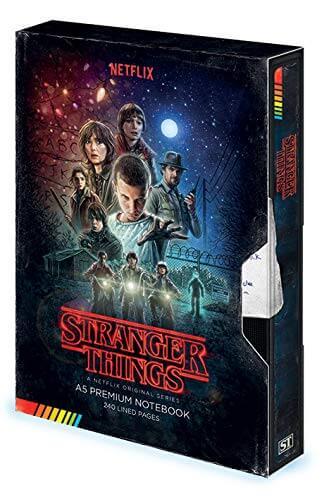 Taccuino VHS di Stranger Things