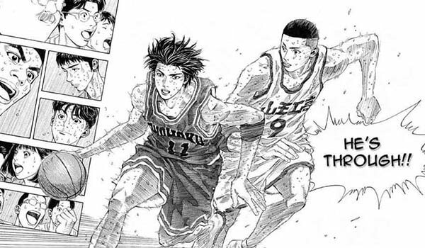 Slam Dunk migliori manga