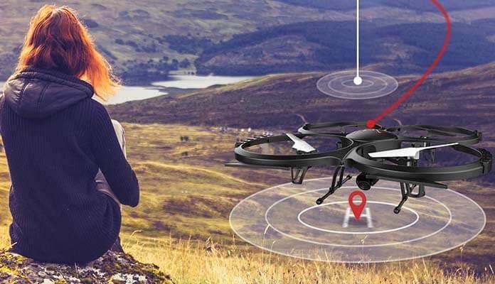 Drone DBPOWER U818A recensione