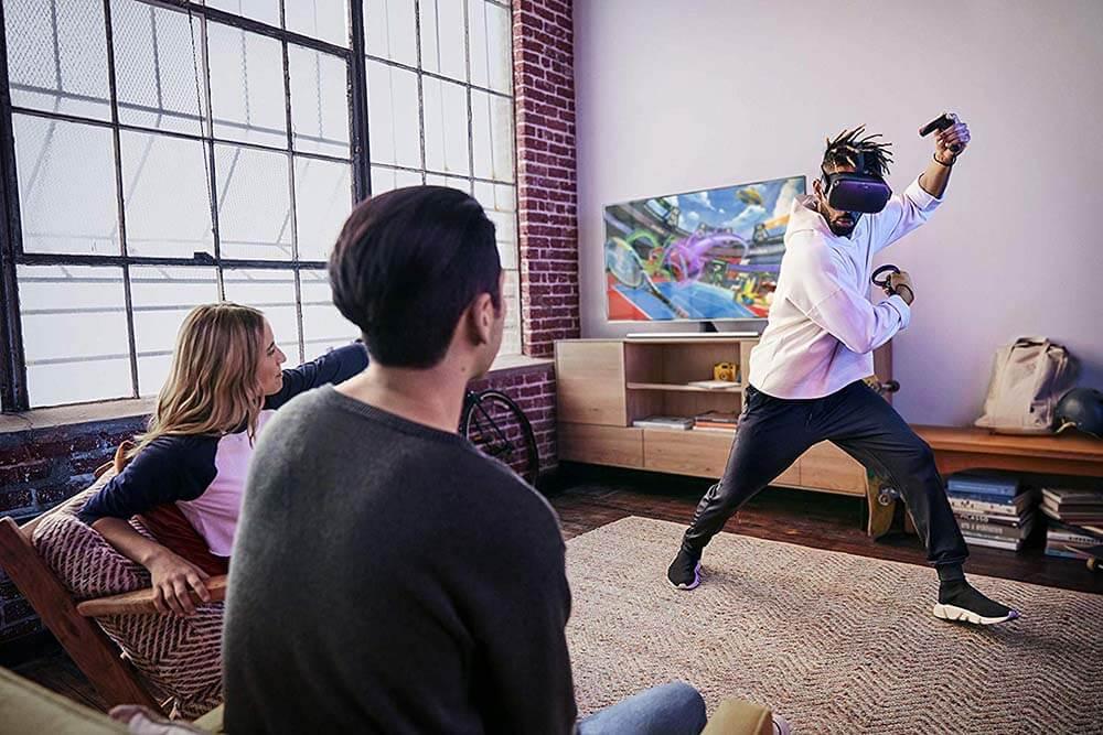 Giocare con Oculus Quest