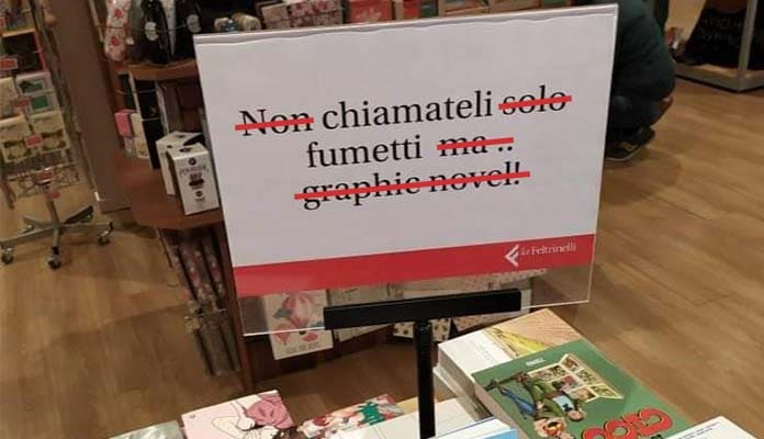 Differenza Graphic Novel e Fumetto