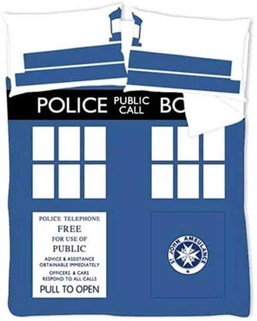 Gadget Doctor Who copripiumino