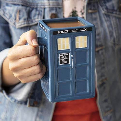 Regali Doctor Who Tazza Tardis