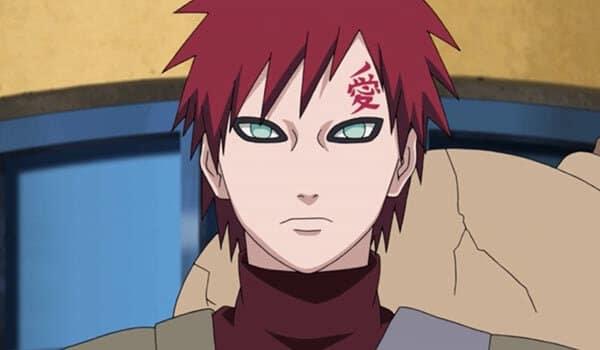 Gaara personaggio Naruto