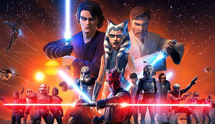 Star Wars The Clone Wars serie