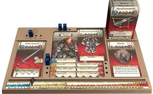 Zombicide black plague dungeon crawler cooperativo