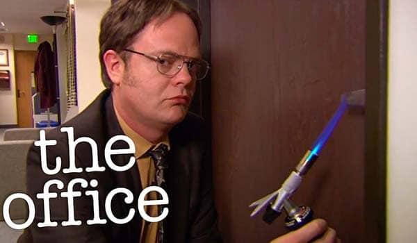 The Office allarme antincendio