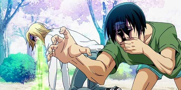 Grand blue anime comico