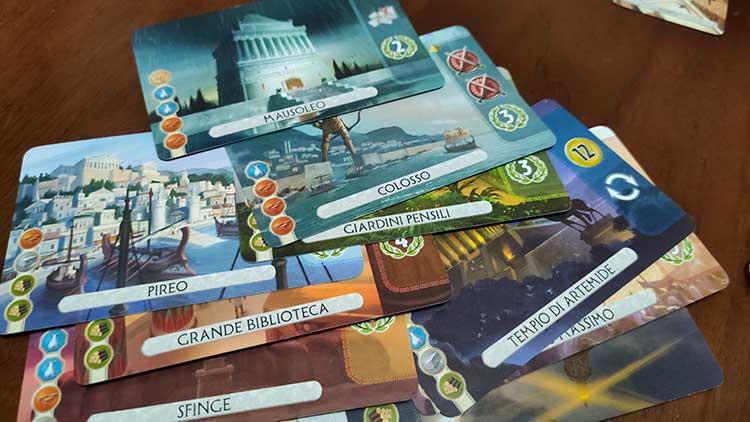 7 Wonders Duel gioco da tavolo