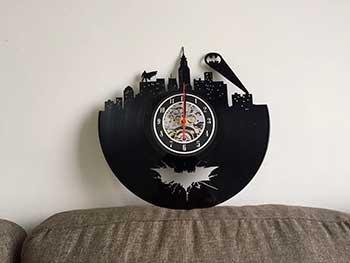 Orologio vinile Batman